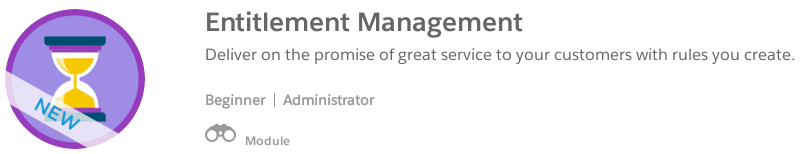 Trailhead: Entitlement Management